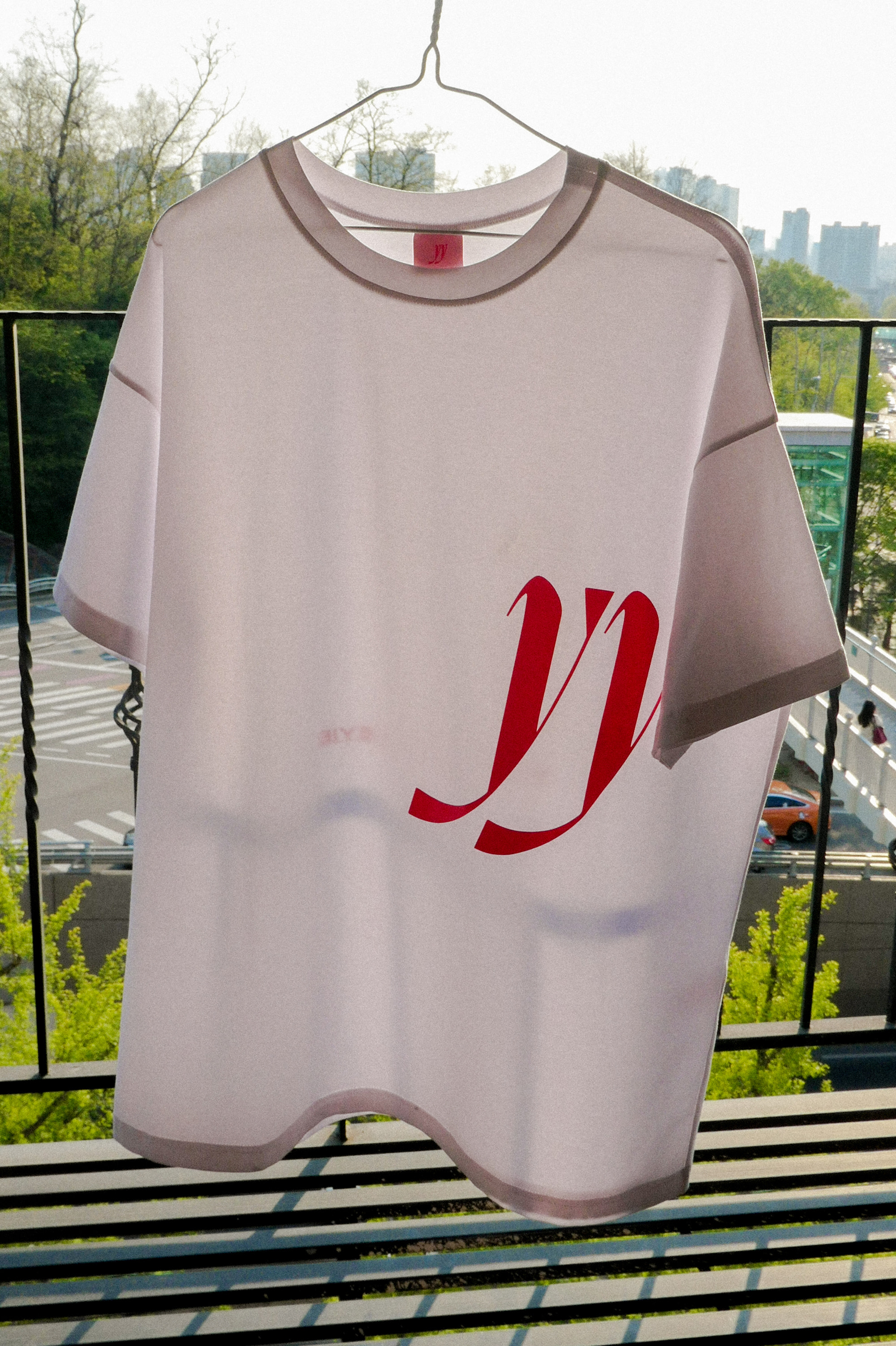 Y.01 Signature YY T-Shirt / White