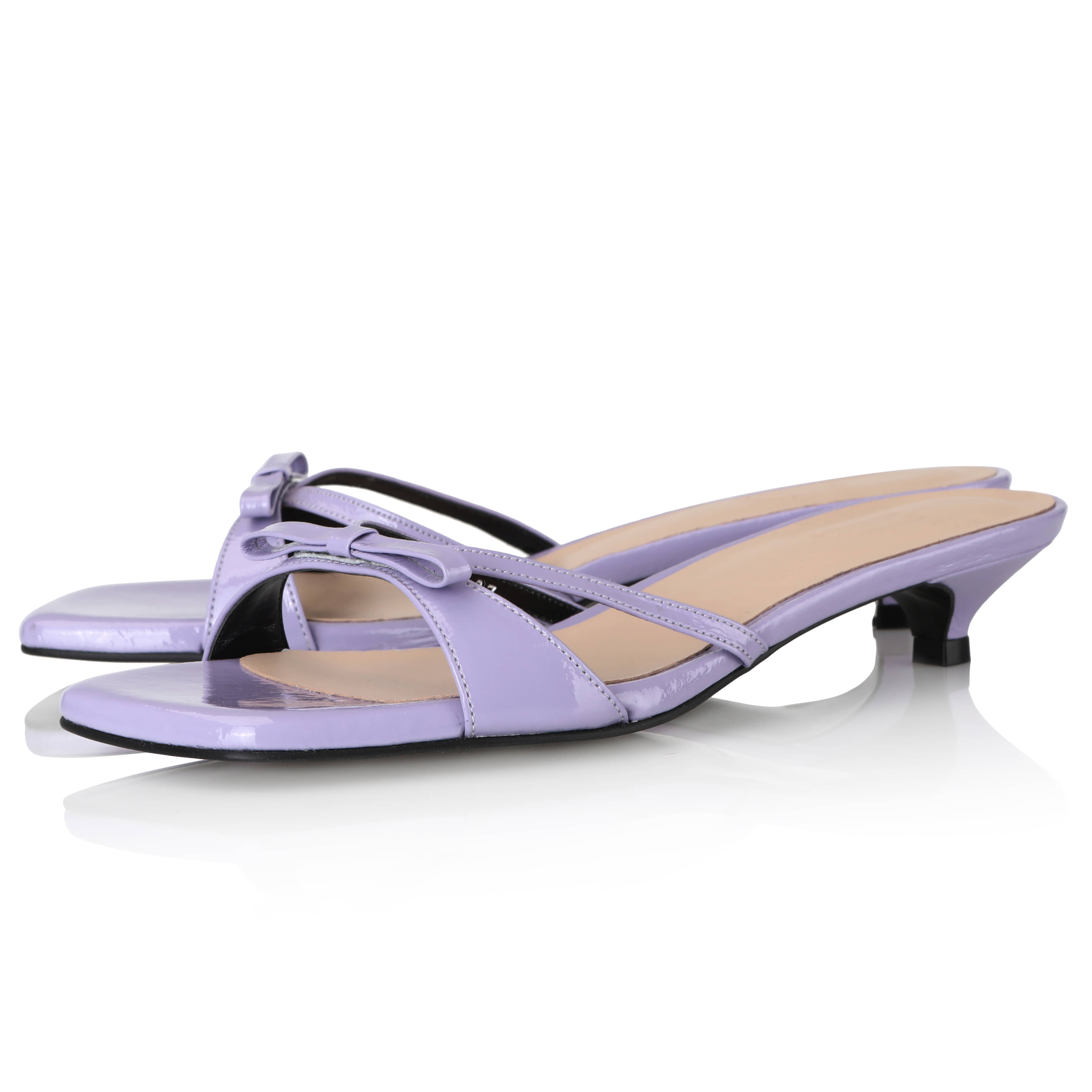 Y.01 Jane Candy Kitten Mules / YY20S-S44 / Lilac