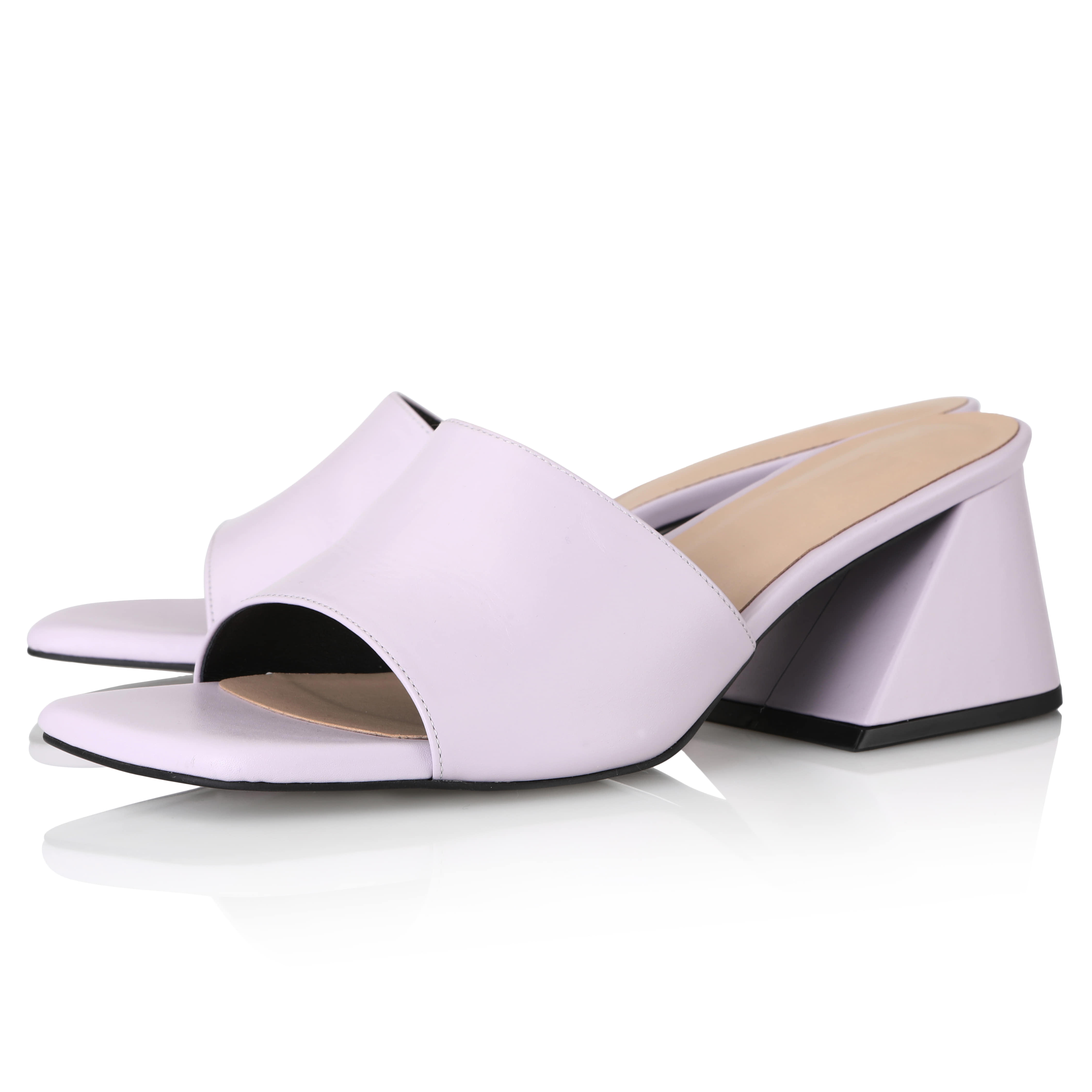 Y.01 Jane Candy Y Mules / YY20S-S47 / Lavender Pink