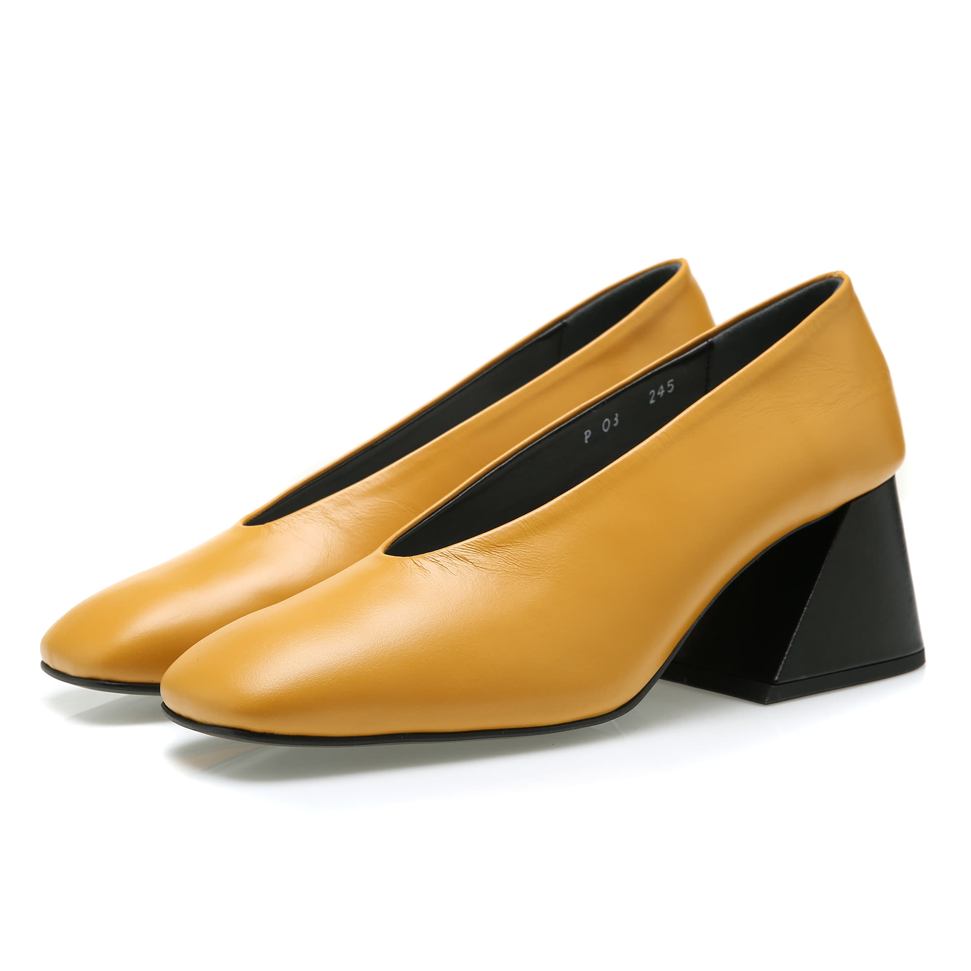 YY Maple Mori Pumps / YY6A-P03 / Mustard
