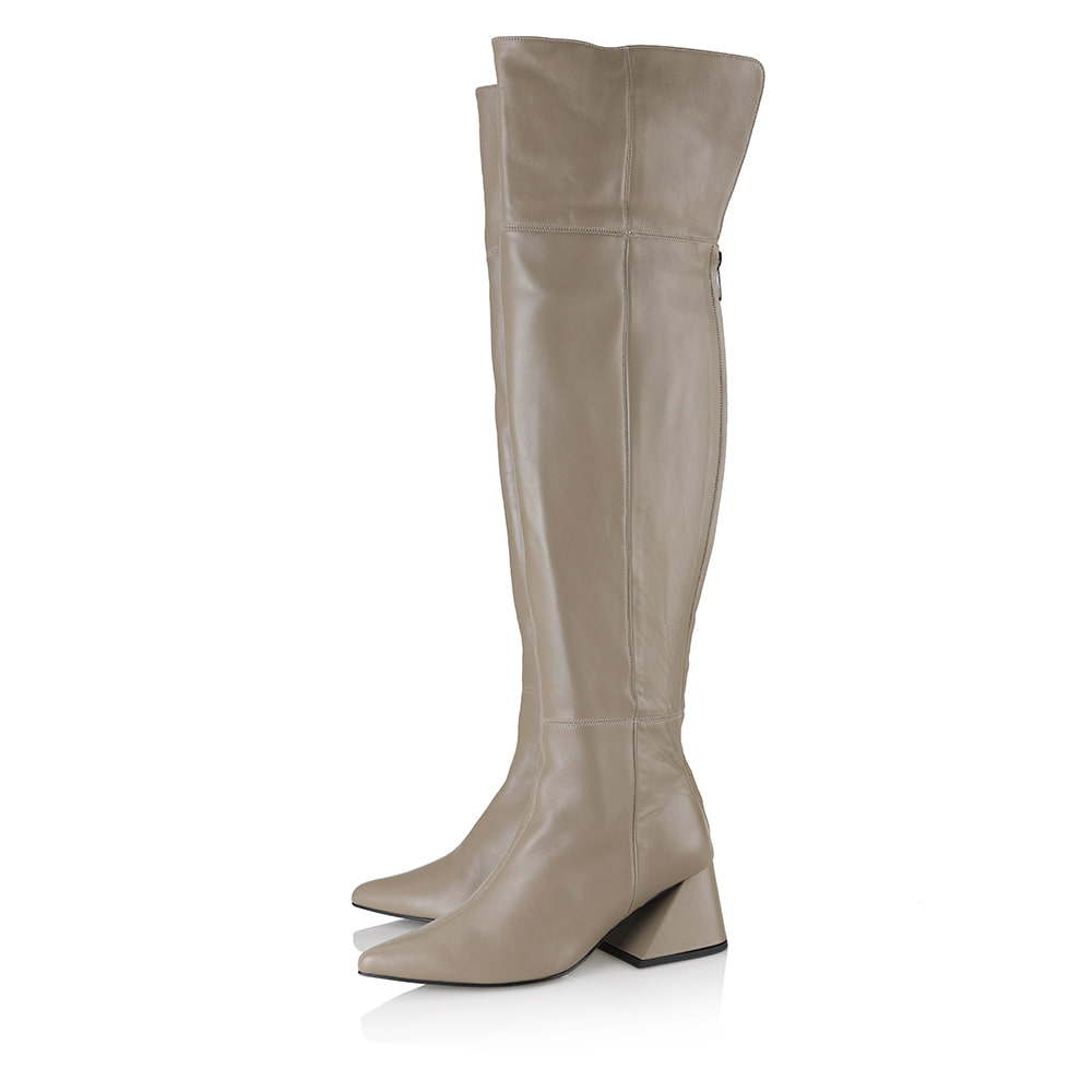 Melody over-the-knee boots / YY9A-B12 / TAUPE