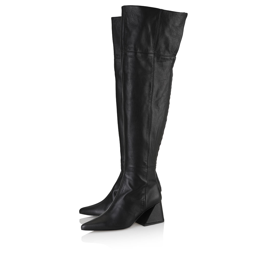 Melody over-the-knee boots / YY9A-B12 / BLACK
