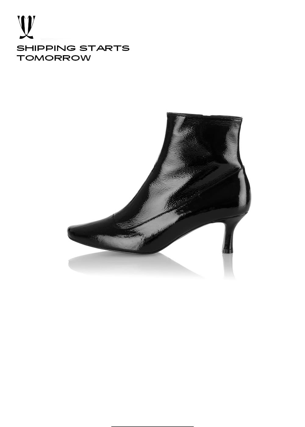 [EXPRESS] Dazzle Scent Boots / YY8A-B05 / BLACK/ IT 39