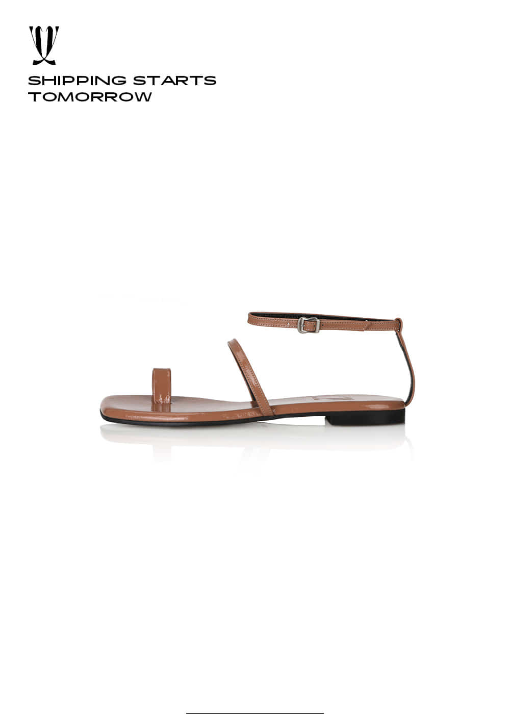 [EXPRESS] Y.01 Jane Candy Back T Sandals / YY20S-S48 / TAUPE / IT 38
